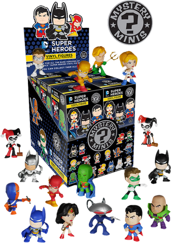 Justice League - Mystery Mini Blind Box Case of 12 Figures