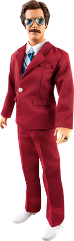 "Anchorman - 13"" Ron Burgundy Talking Action Figure"