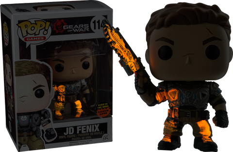 Gears of War - JD Fenix with Glowing Swarm Gunk Pop! Vinyl Figure