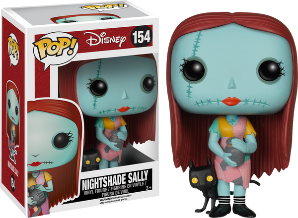 The Nightmare Before Christmas - Sally with Nightshade Pop! Vinyl Figure