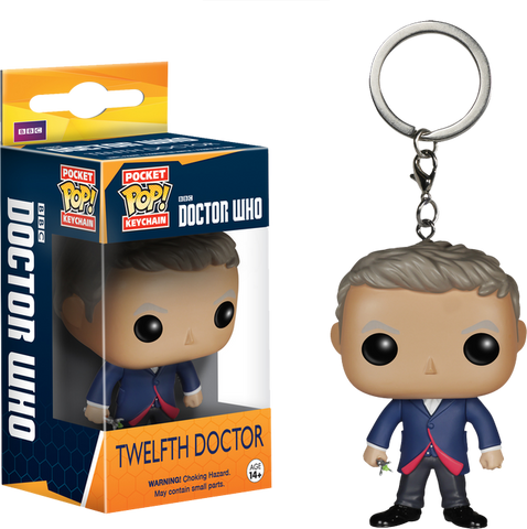 Doctor Who - 12th Doctor Pop! Keychain