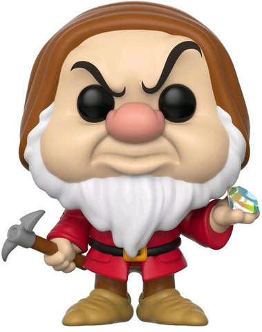 Snow White and the Seven Dwarfs - Grumpy with Diamond and Pick US Exclusive Pop! Vinyl Figure - Pre-Order