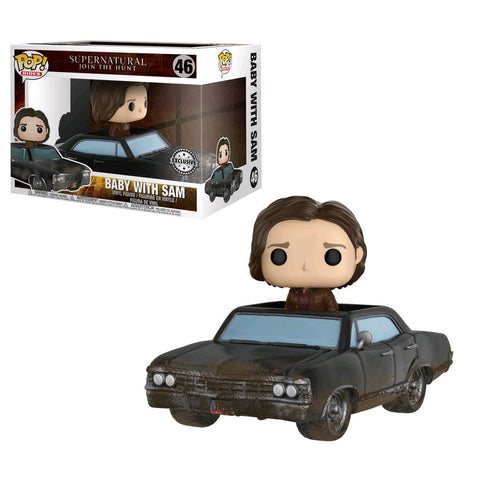 Supernatural - Sam with Damaged Baby Pop! Vinyl Figure Ride  - Pre-Order