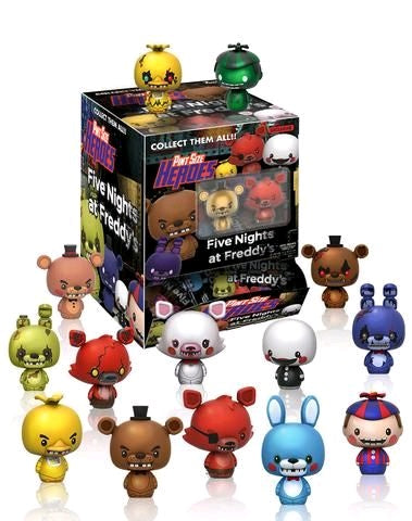Five Nights at Freddy's - Gamestop Exclusive Pint Size Heroes Mystery Mini Blind Bags Case of 24 Figures