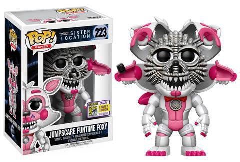 SDCC17 Exclusive - FNAF Sister Location: Jumpscare Funtime Foxy Pop! Vinyl Figure