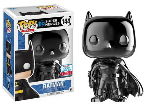 NYCC 2017 Exclusive - Batman: Black Chrome Batman Pop! Vinyl Figure