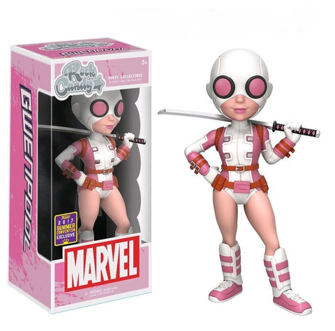 SDCC17 Exclusive - Marvel: Gwenpool Rock Candy Figure