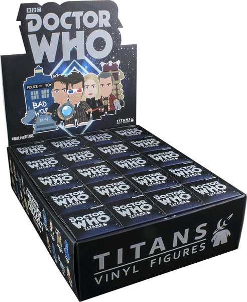 Doctor Who: Tenth Doctor Gallifrey - Titans Mystery Mini Blind Box Case of 20 Figures