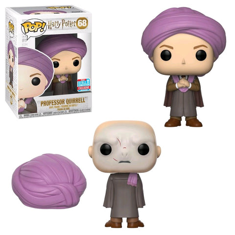 Harry Potter - Professor Quirrell NYCC 2018 Exclusive Pop! Vinyl Figure