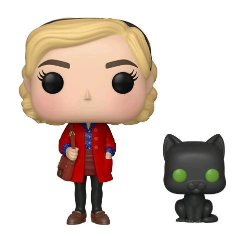 Chilling Adventures of Sabrina - Sabrina with Salem Pop! Vinyl Figure - Pre-Order