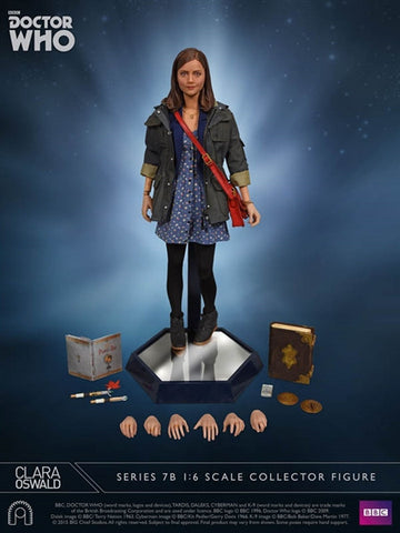 "Doctor Who - Clara Oswald 12"" 1:6 Scale Action Figure - Pre-Order"