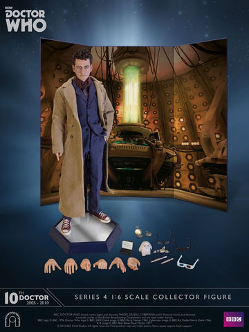 "Doctor Who - Tenth Doctor Series 04 12"" 1:6 Scale Action Figure - Pre-Order"