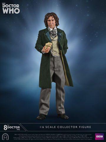 "Doctor Who - Eighth Doctor TV Movie 12"" 1:6 Scale Action Figure - Pre-Order"
