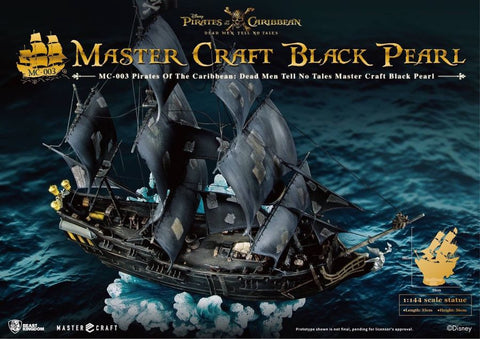 Pirates of the Caribbean 5: Dead Men Tell No Tales - Black Pearl 1:144 Scale Statue - Pre-Order