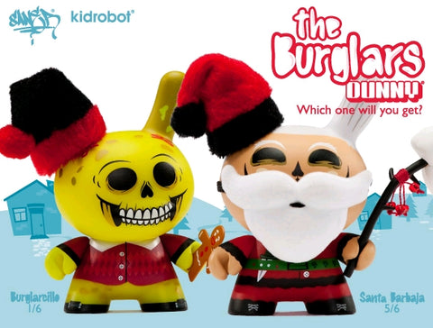 "Dunny - The Burglars 3"" Dunny Mystery Mini Figure Blind Box"