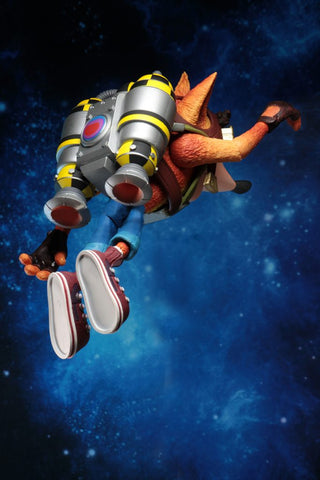 "Crash Bandicoot - Crash with Jetpack 7"" Deluxe Action Figure - Pre-Order"