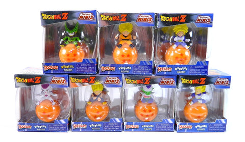 Dragon Ball Z - Rockerz Collectible Wobbling Figures