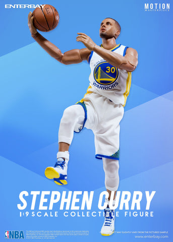 NBA - Stephen Curry 1:9 Scale Action Figure - Pre-Order