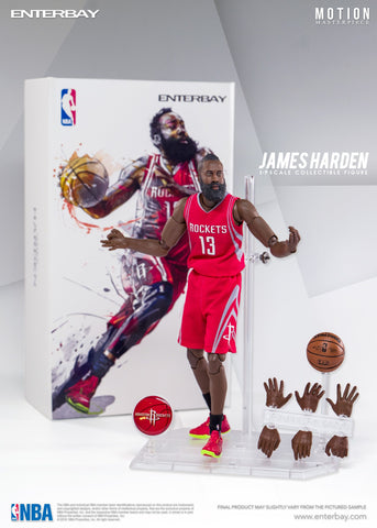 NBA - James Harden 1:9 Scale Action Figure - Pre-Order