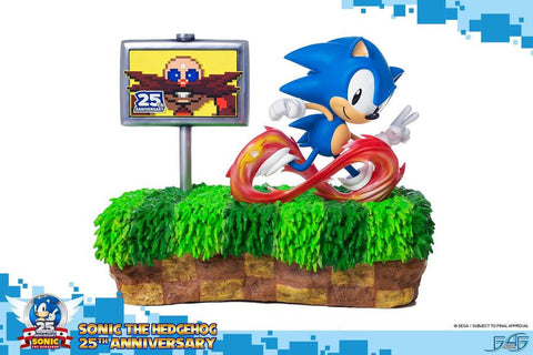 Sonic the Hedgehog - Sonic 25th Anniversary Statue - Pre-Order