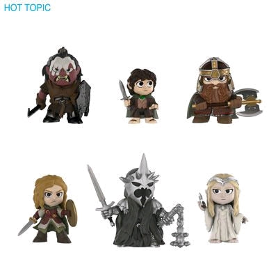 Lord of the Rings - Hot Topic Exclusive Mystery Mini Blind Box Case of 12 Figures