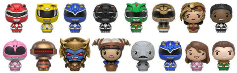 Power Rangers - Walgreens Exclusive Pint Size Heroes Mystery Mini Blind Bags Case of 24 Figures