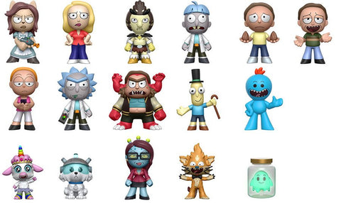 Rick & Morty - Mystery Minis Case of 12 Blind Boxes
