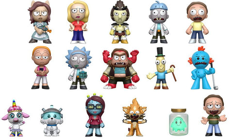 Rick & Morty - Hot Topic Exclusive Mystery Minis Blind Box - Pre-Order