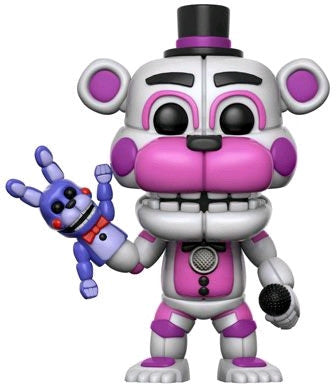 Five Nights at Freddy's: Sister Location - Funtime Freddy Pop! Vinyl Figure: Case of 6 with Chase - Pre-Order