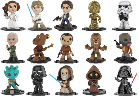 Star Wars - Mystery Mini Blind Box Case of 12 Figures - Pre-Order