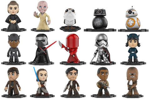 Star Wars Episode VIII: The Last Jedi - Mystery Minis Case of 12 Blind Boxes - Pre-Order