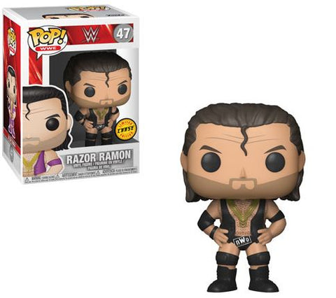 WWE - Razor Ramon Pop! Vinyl Figure (With Chance Of A Chase Variant) - Pre-Order