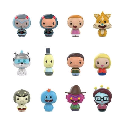 Rick and Morty - Hot Topic Exclusive Pint Size Heroes Mystery Mini Blind Bags Case of 24 Figures