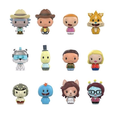 Rick and Morty - Target Exclusive Pint Size Heroes Mystery Mini Blind Bags Case of 24 Figures