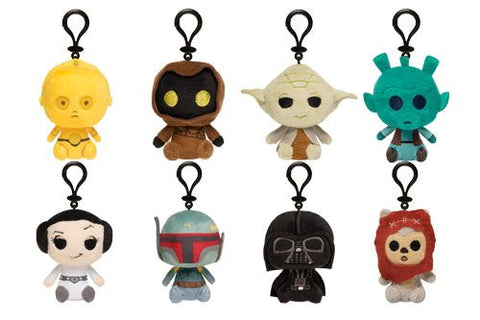 Star Wars - Plush Keychain Mystery Mini Blind Bag - Pre-Order