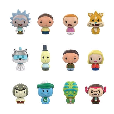 Rick and Morty - Toys R Us Exclusive Pint Size Heroes Mystery Mini Blind Bags Case of 24 Figures