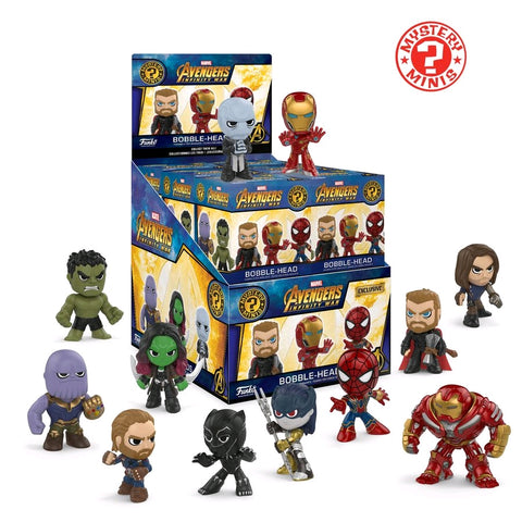 Avengers: Infinity War - Exclusive #1 Mystery Mini Blind Box Case of 12 Figures - Pre-Order