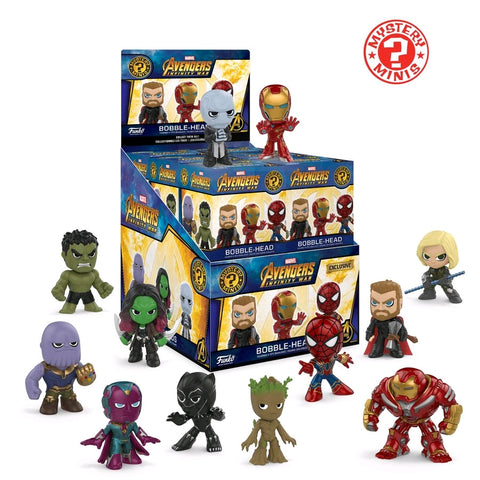 Avengers: Infinity War - Exclusive #2 Mystery Mini Blind Box Case of 12 Figures - Pre-Order