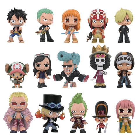 One Piece - Mystery Mini Blind Box: Hot Topic US Exclusive Case Of 12 Figures - Pre-Order