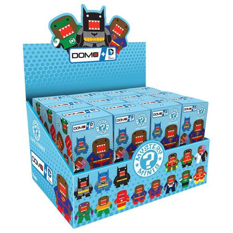 DC Comics - Domo Mystery Mini Blind Box Case of 24 Figures