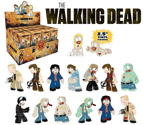 The Walking Dead - Series 1 Mystery Mini Blind Box Case of 24 Figures
