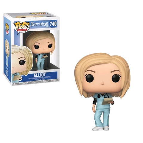 Scrubs - Bundle Set of 4 Pop! Vinyl Figures - Pre-Order