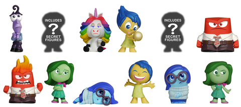 Inside Out  - Mystery Mini Blind Box Case of 12 Figures