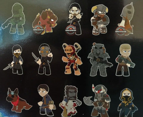 Bethesda All Stars - Gamestop Exclusive Mystery Mini Blind Box Case of 12 Figures