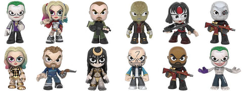 Suicide Squad  - Mystery Mini Blind Box Case of 12 Figures
