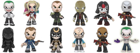 Suicide Squad  - Hot Topic Exclusive Mystery Mini Blind Box Case of 12 Figures