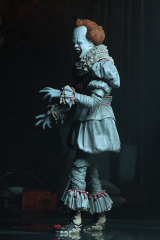 "It (2017) - Pennywise The Dancing Clown 7"" Ultimate Action Figure - Pre-Order"