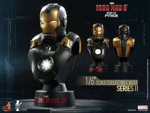 Iron Man 3 - Mark XX Python 1:6 Scale Bust