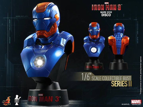 Iron Man 3 - Mark XXVII Disco 1:6 Scale Bust