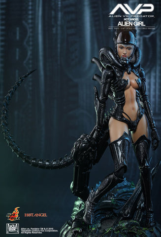 "Alien Vs Predator - Alien Girl 12"" 1:6 Scale Figure"